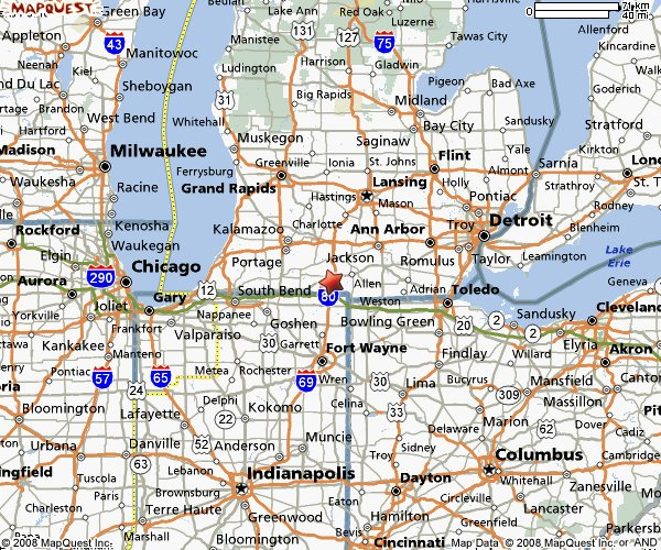 Map Of Illinois Cities Chicago